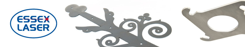 Laser cutting and folding of sheet metal at Essex Laser, Essex, London and all UK